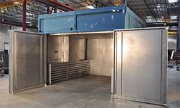 Large composites oven by ASC used for out-of-autoclave processes